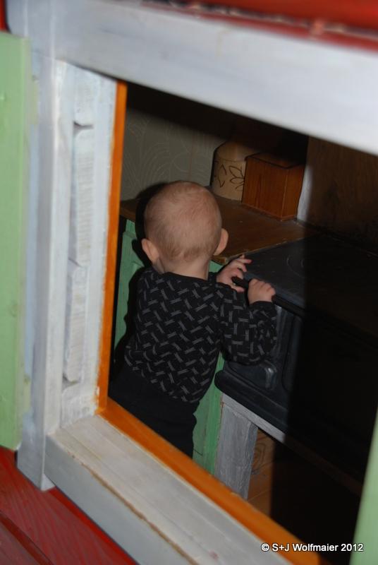 Our daughter at Arlanda