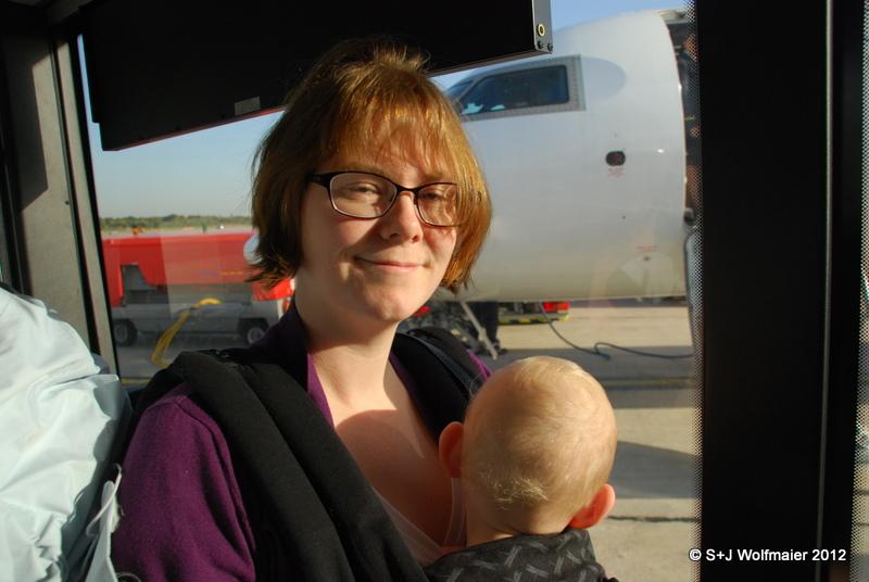 Susanna and our daughter at Hamburg