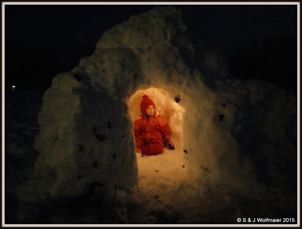 Snow-igloo
