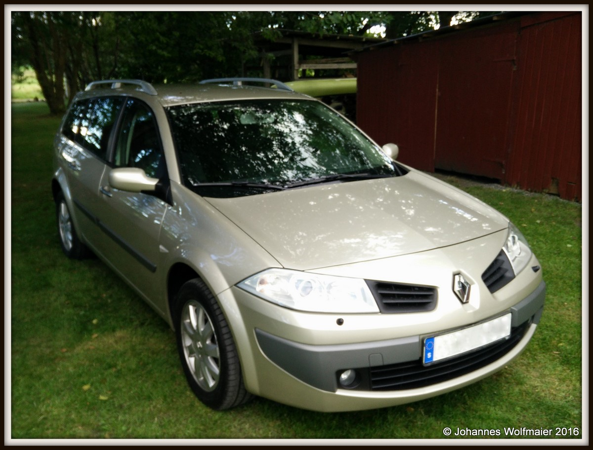 Golden Fun, Renault Mégane Combi