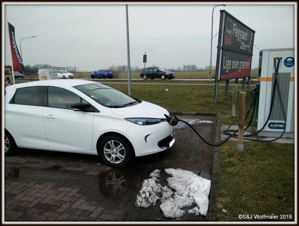 Charging our ZOE in Germany